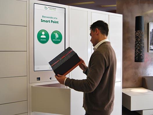 Los Smart Points, taquillas inteligentes que revalorizan los edificios.
